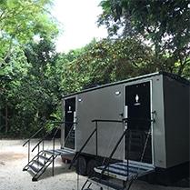 Portable Restroom Walton House Miami And Florida Wedding